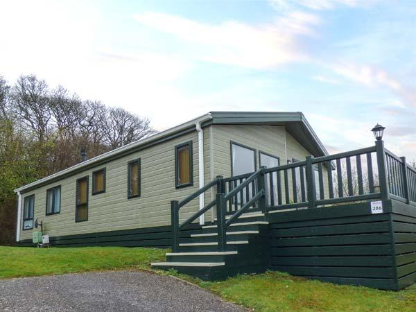 LAKE VIEW LODGE luxurious single-storey lodge, en-suite, fishing, WiFi on White, holiday rental in Newquay