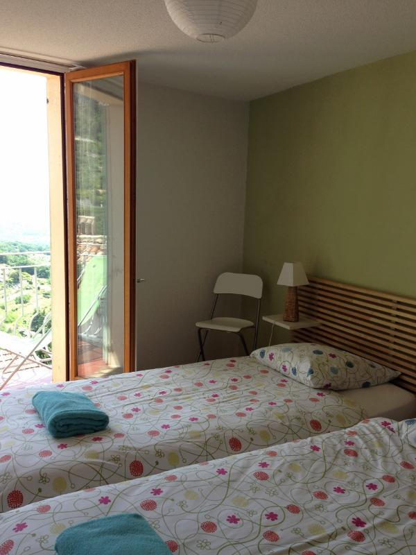 Room CHARLOTTE - Balcony and Sea View - 2 Twins beds and