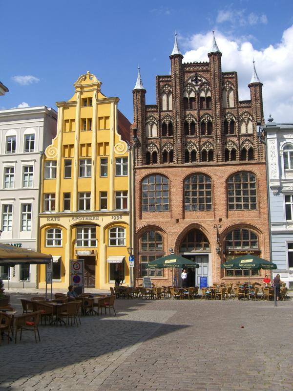 Stralsunder Bürgerhäuser