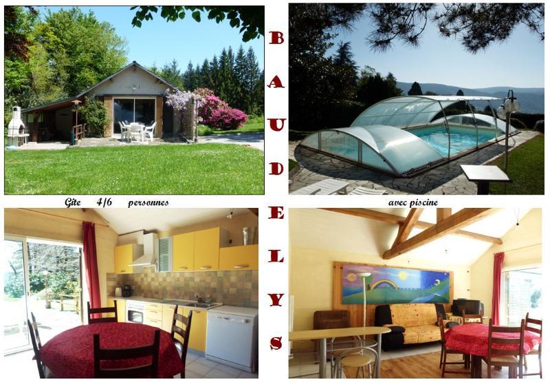 Casa Rural de 2 dormitorios en Pont De Larn, casa vacanza a Mazamet