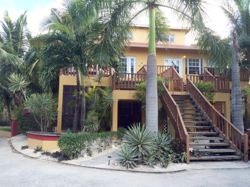 Front of ProvoVilla by Grace Bay.