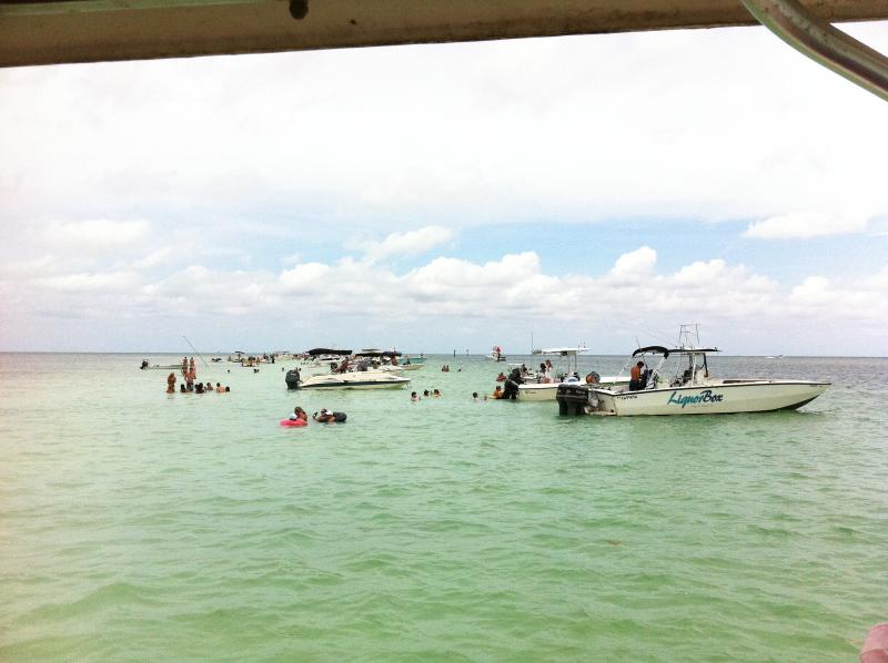 Great time at the Sand Bar