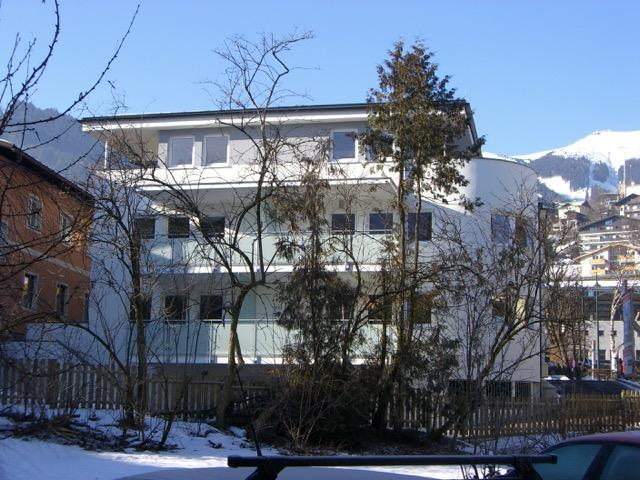 Apartment Block from rear
