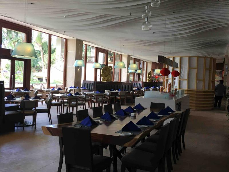 Dining at nearby Nexus resort
