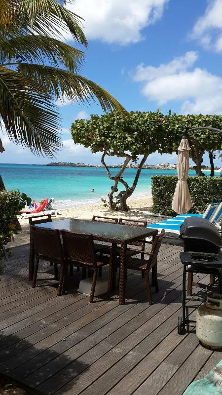 Coco Beach Club #6, 2BR beachfront condo rental, Simpson Bay, St Maarten