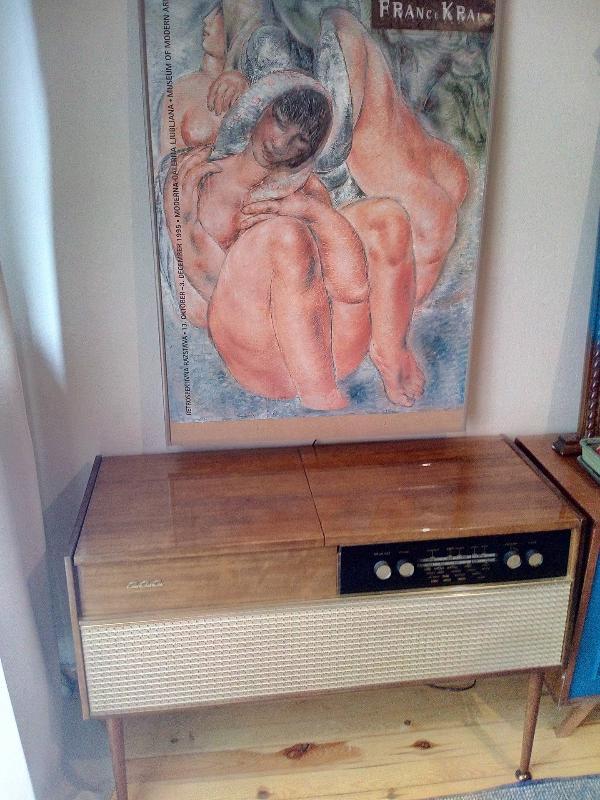 antique radiogramme