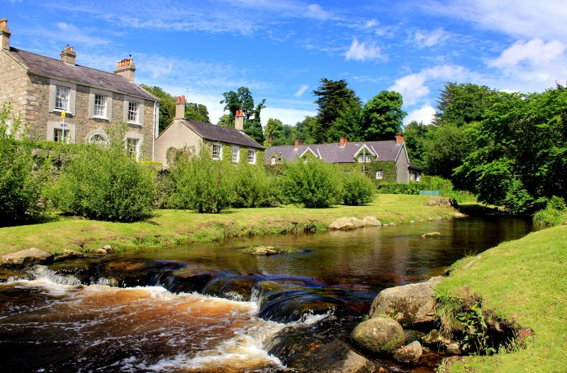 The Fairy Glen in Rostrevor is a walk along the river, just on the outskirts of the village.