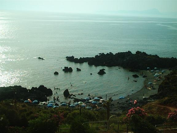Le spiaggette di Scalea