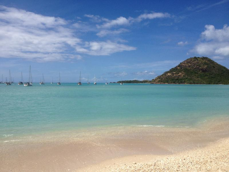 North Beach Mouth of Harbour view, shallow waters, peaceful, rock areas for snorkelling and fishing