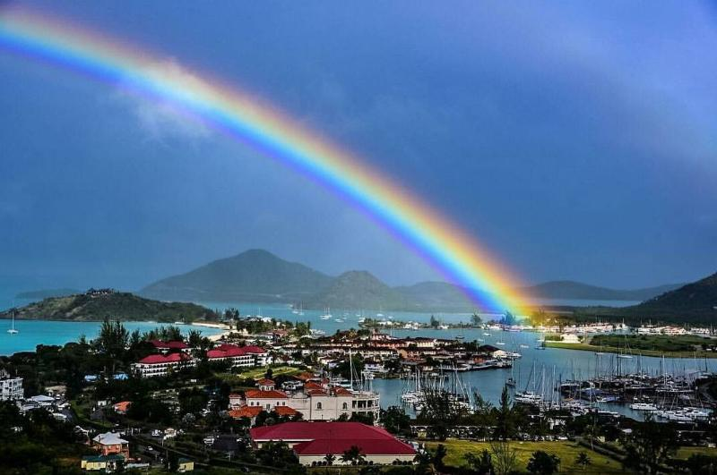 Rainbow over the Harbours