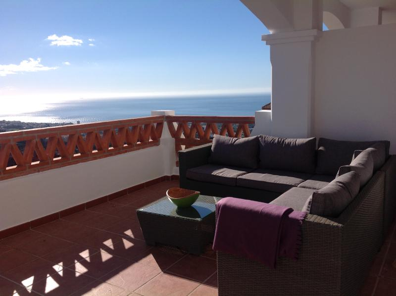 Beatiful sea view from the terrace