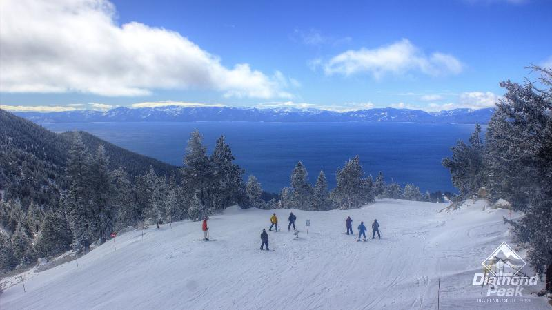 Top of Diamond Peak Ski Resort. Unit is located at the base and free shuttle access to the resort