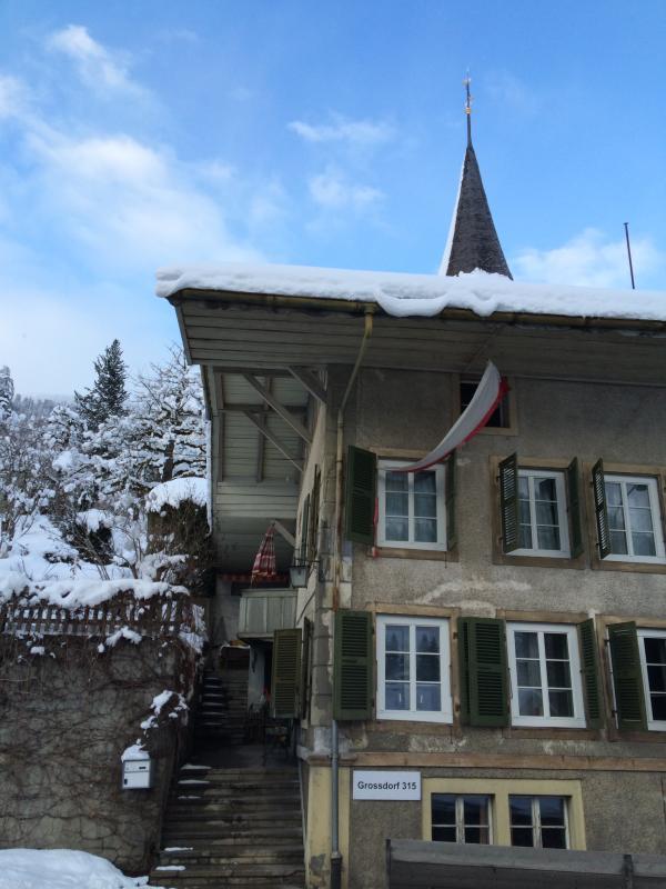 200 Year Old House, Interlaken