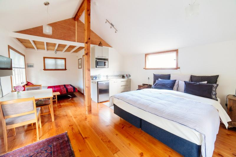 The Studio has a very spacious and comfortable interior.