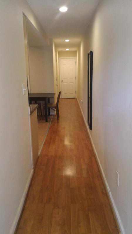 hallway. This compact 3 bedrooms/3 bathrooms condo is renovated and separated from the host.