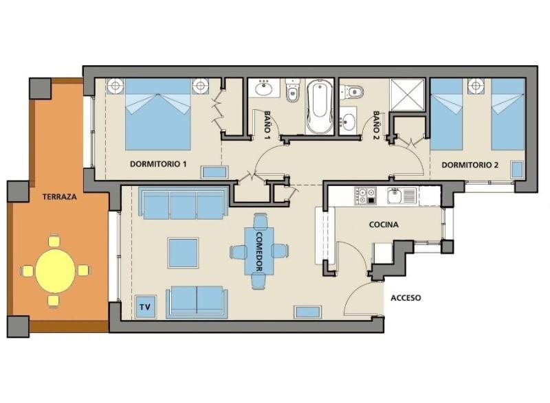 Apartamento Layout - enorme varanda virada a sul