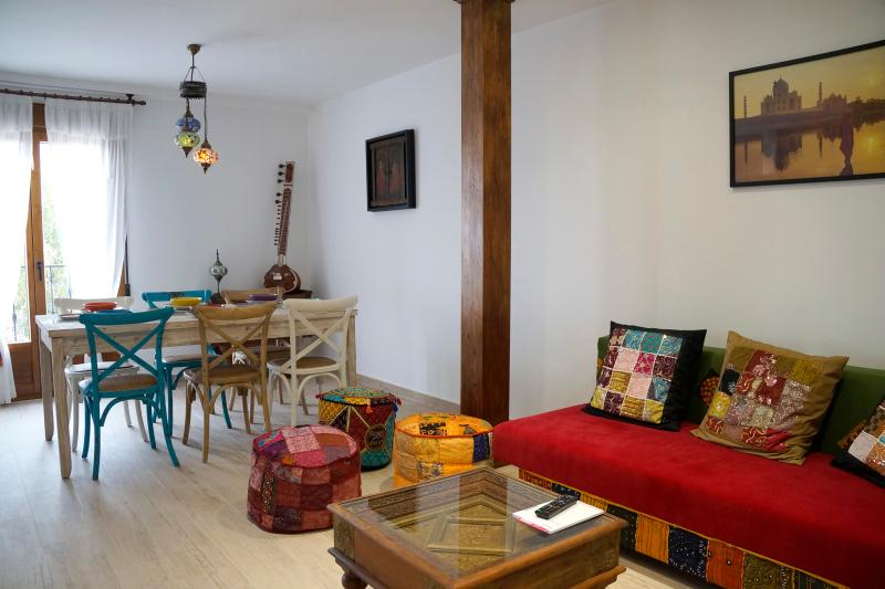 Apartamento AGRA. Sala de estar-Comedor