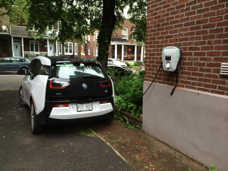 electric car charger available