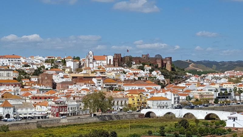 Silves and its castle. A charming medieval town to explore with great restaurants and bars.