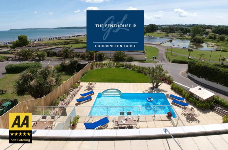 Stunning views of Young's Park and the sea beyond from the Penthouse, balcony or hot tub!