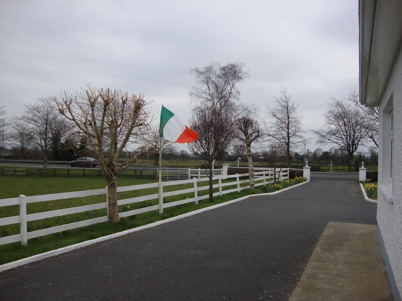 Front Drive - with Flag - celebrating 1916.  - Taken in March 2016.