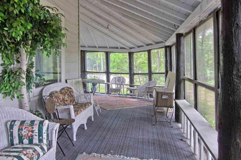 large porch to relax on