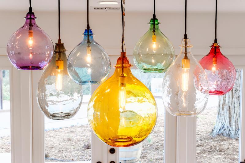 Illumination Ridge:  our signature chandelier.