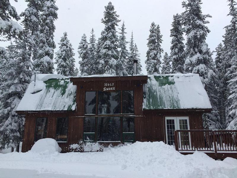 Ski season at the cabin
