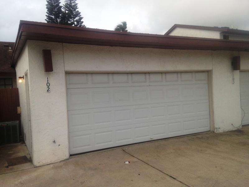 2 Car Garage with Garage door opener