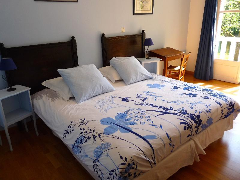 Chambre 'mésange' avec 2 lits rapprochés (configuration par défaut, sauf demande contraire)