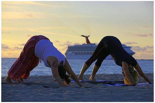 South Beach Yoga  flow  Early Morning Sun Salutations.