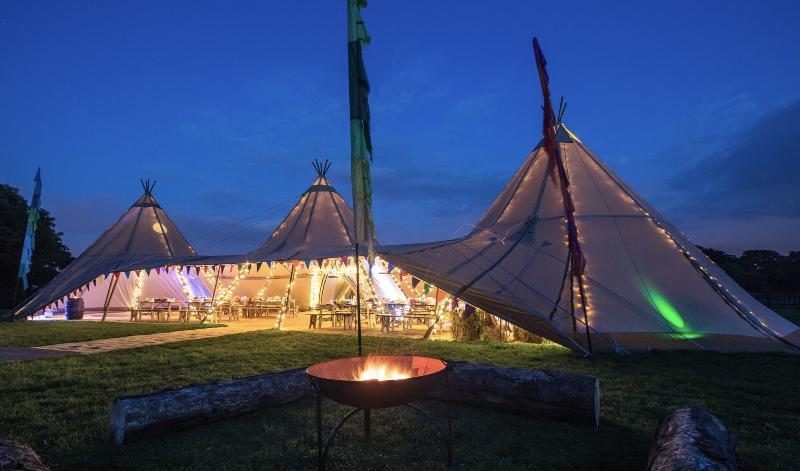 Tipi Hire for 120
