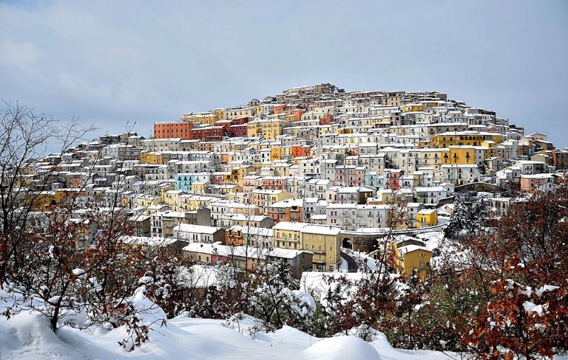 Calitri Winter Calitri von Winter