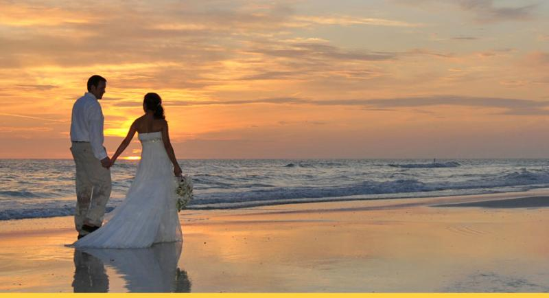 Beautiful beach area for wedding and honeymoons.