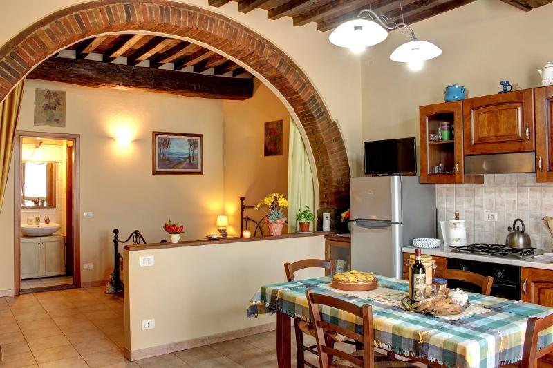 Typical renovated apartment in the heart of Tuscan, holiday rental in Ponte Agli Stolli