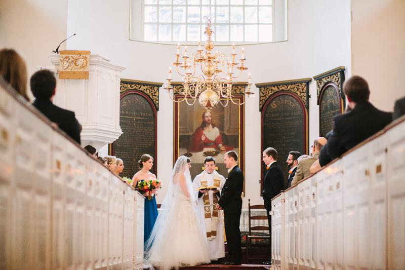 Wedding at the Old North Church