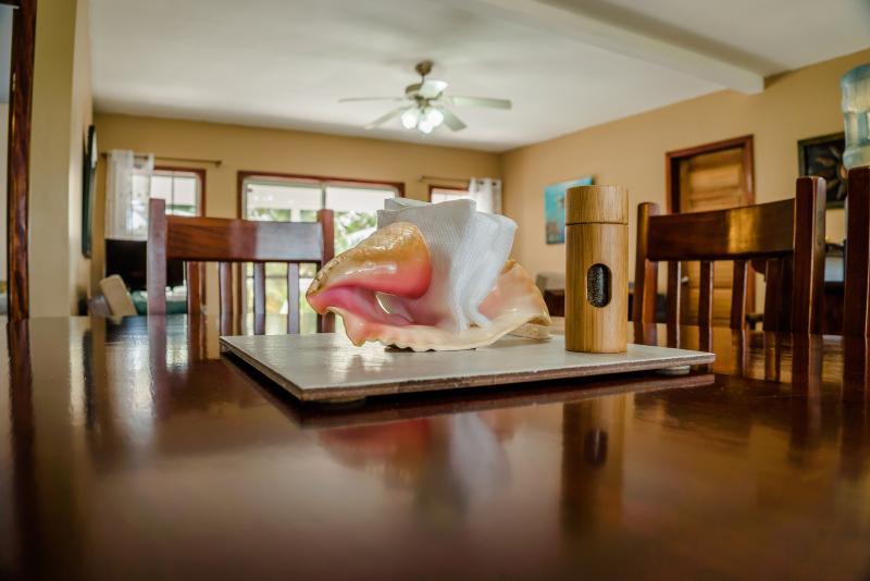 Incredible new Belizean hardwood furnishings