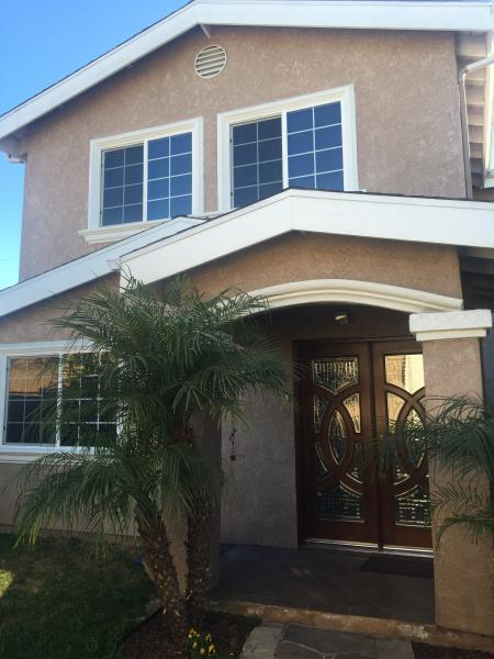Front view of vacation rental property