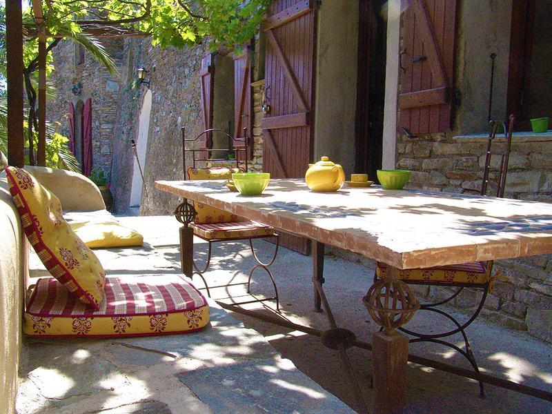 Terrasse appartement Gorgone