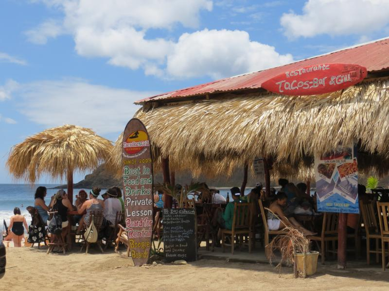 Surfing lessons? cold cerveza? fish tacos?
