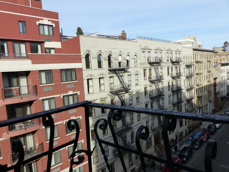 Guest bedroom - window view
