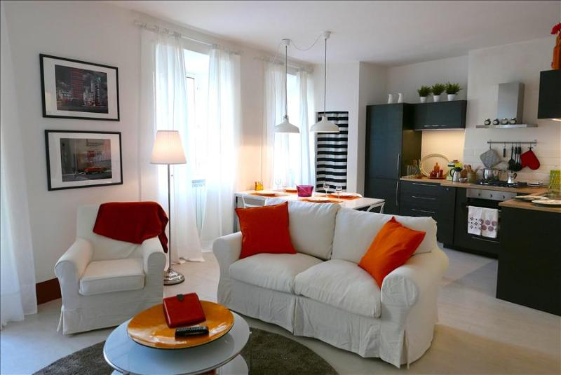 In Heart of Historic Siena, Il Cavallo Bianco, a Stylish and Modern 2 Bedroom Ap, holiday rental in Moltacino