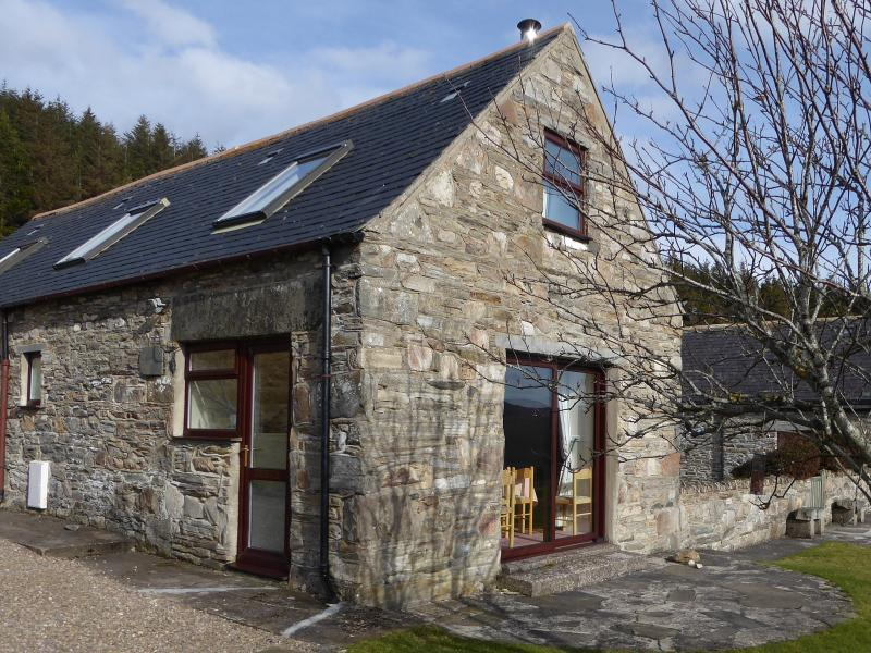 Dronach Cottage at Bluefolds, Glenlivet, Scotland, vacation rental in Dufftown