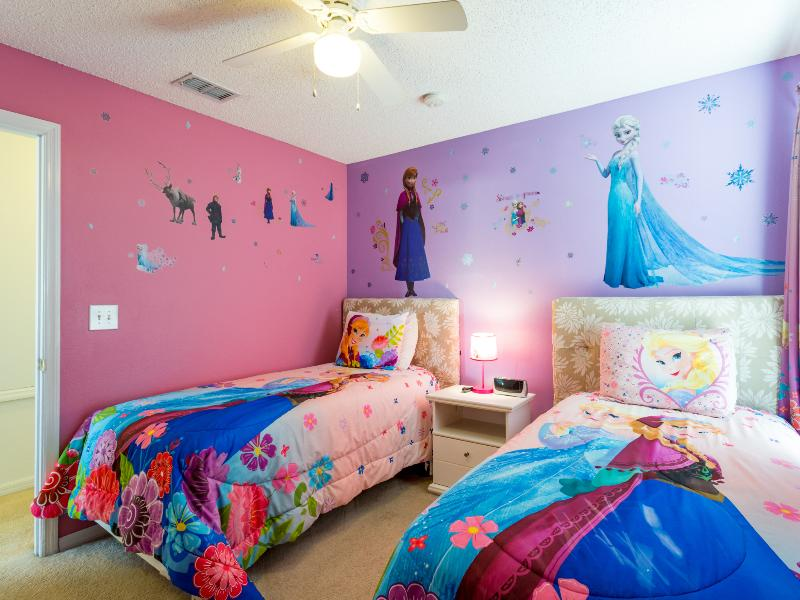 Girls Twin Bedroom on the Upper Level