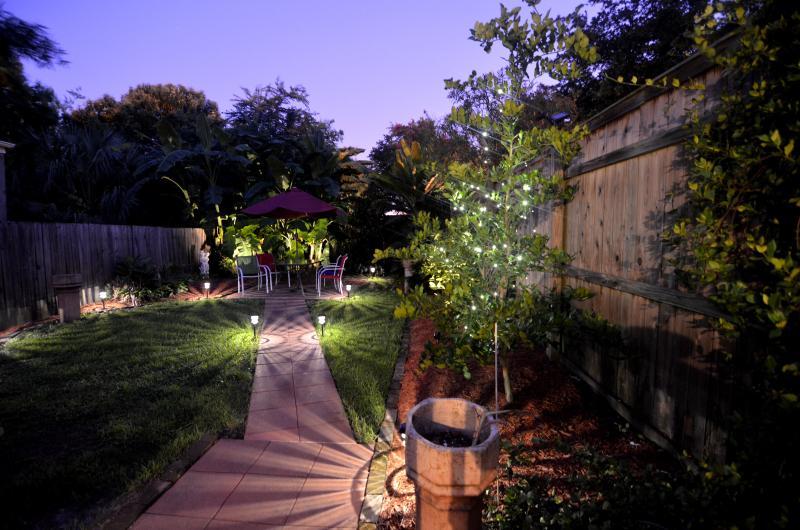 Backyard night