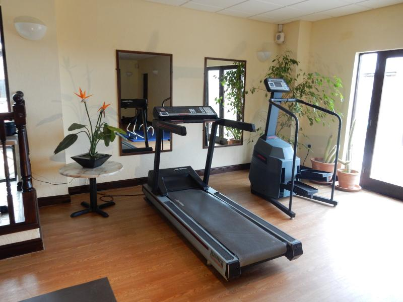 Part of the Gym at Downe