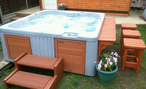 Hot Tub for Hire at £250 per weekend