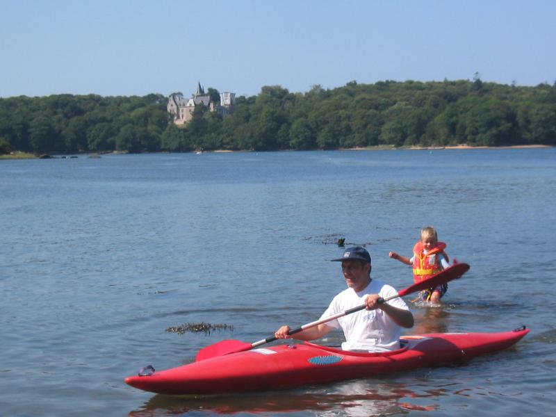 Canoeing on the Aven