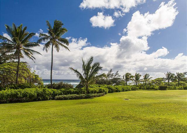 Lanai with Oceanfront View
