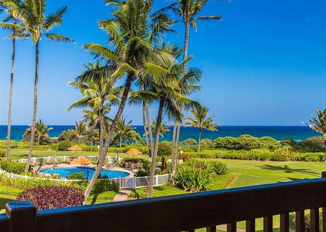 Kaha Lani Resort #206, Ocean View, Steps to the Beach, Free Wifi & Parking!, vacation rental in Lihue